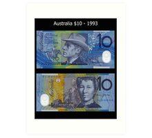 Australia $10 - 1993 Art Print