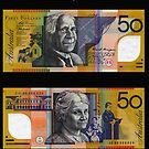 Australia $50 - 1995 by Robert Abraham