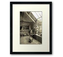 Workplace Rodin Framed Print