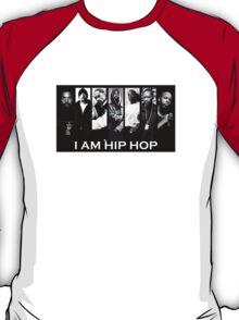I Am Hiphop B/W T-Shirt