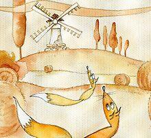 fox. Tuscany by lelita