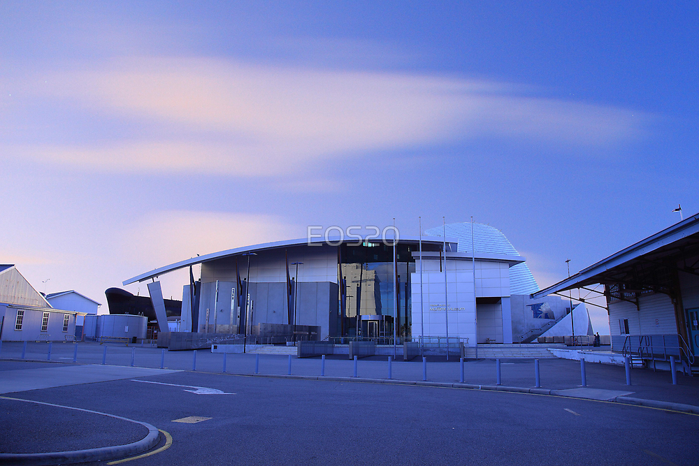 Fremantle Maritime Museum At Dusk   by EOS20
