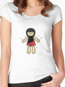Voodoo Doll Women's Fitted Scoop T-Shirt