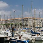 Rochefort Marina, France by Elaine Teague