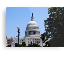 Capital Building, Washington DC Metal Print