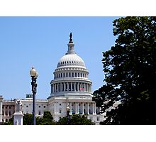 Capital Building, Washington DC Photographic Print