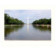 Washington Monument, DC Art Print
