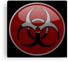 ZOMBIE APOCALYPSE HAZMAT by Zombie Ghetto Canvas Print