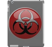 ZOMBIE APOCALYPSE HAZMAT by Zombie Ghetto iPad Case/Skin