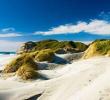 wharariki beach by peterwey