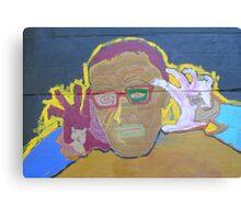 Eddie White Canvas Print