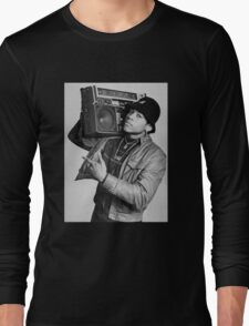 LL Cool J B/W Long Sleeve T-Shirt