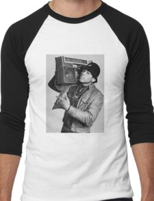 LL Cool J B/W Men's Baseball ¾ T-Shirt