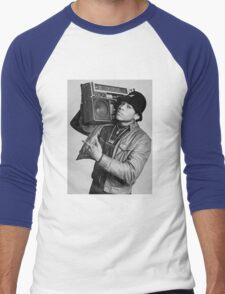 LL Cool J B/W Men's Baseball ¾ T-Shirt