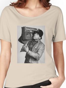 LL Cool J B/W Women's Relaxed Fit T-Shirt