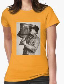 LL Cool J B/W Womens Fitted T-Shirt