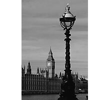 London Lamp Photographic Print