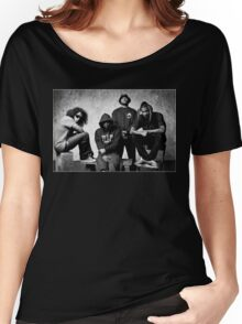 Black Hippy B/W Women's Relaxed Fit T-Shirt
