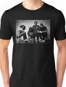 Black Hippy B/W Unisex T-Shirt