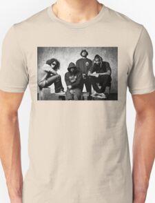 Black Hippy B/W Unisex T-Shirt