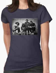 Black Hippy B/W Womens Fitted T-Shirt