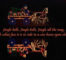 One horse open sleigh by Ella Hall