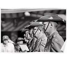 Melbourne ANZAC day parade 2013 - 13 Poster
