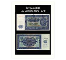 Germany DDR 1948 Art Print