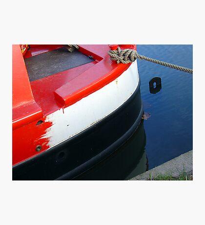 narrowboat hull Photographic Print