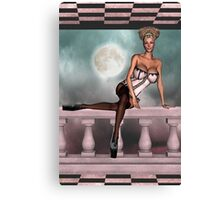 Bodacious In Pink Canvas Print