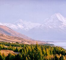 Mount Cook National Park - New Zealand by Norman Repacholi