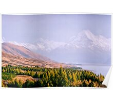 Mount Cook National Park - New Zealand Poster