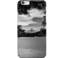 Vista over Lake Pukaki, New Zealand iPhone Case/Skin