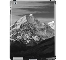 Towering over Lake Pukaki, New Zealand iPad Case/Skin