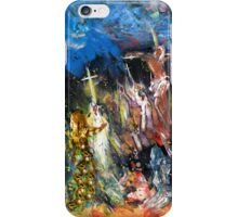 Mary Magdalene At The Cross iPhone Case/Skin