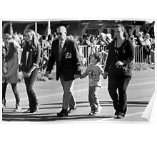 Melbourne ANZAC day parade 2013 - 18 Poster