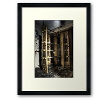Clothes Dryer Framed Print