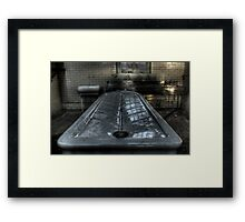 Blood Trench Framed Print