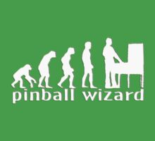 Pinball wizard by Mundy Hackett