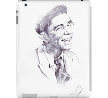 Sir Norman Wisdom iPad Case/Skin