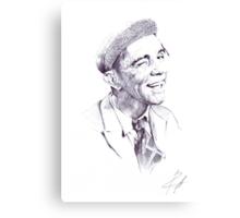 Sir Norman Wisdom Canvas Print
