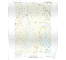 Maine USGS Historical Map Waldoboro West 461010 1965 24000 Poster