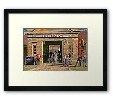 Albury Civic Fire Station Open Day Framed Print