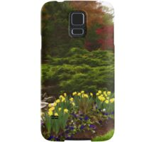 New Leaves and Flowers - Impressions Of Spring Samsung Galaxy Case/Skin