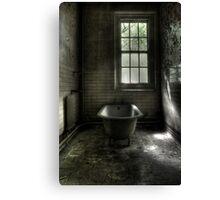 Dismal Bath Day Canvas Print
