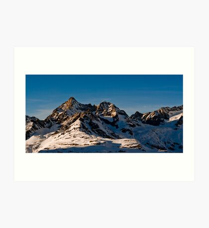 trifthorn panorama Art Print