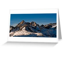 trifthorn panorama Greeting Card