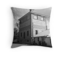 """The Weavers Cottage of Oakbank"" Throw Pillow"