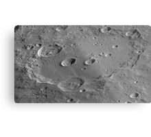 High-Resolution Clavius Metal Print