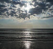 Early Morning on the Beach by Jenn  Dixon